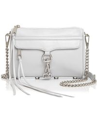Rebecca Minkoff - Mini Mac Leather Crossbody - Lyst