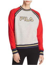 Fila - Rafaella Color-block Sweatshirt - Lyst