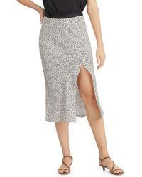 Sanctuary Good Times Midi Skirt - Grey