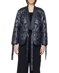 3.1 Phillip Lim Utility Kimono Jacket - Black