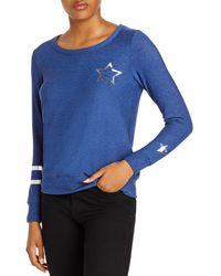 Chaser Stars & Stripes Sweatshirt - Blue