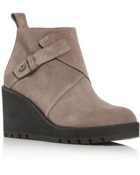Eileen Fisher Women's Tinker Wedge Booties - Brown