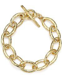 Ippolita | 18k Gold Glamazon Mini Bastille Link Bracelet | Lyst