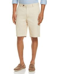 Brooks Brothers Garment Dyed Regular Fit Shorts - Natural