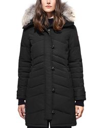 Canada Goose - Lorette Quilted Down Parka Jacket  - Lyst