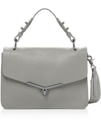Botkier Valentina Leather Satchel - Metallic