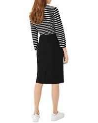 Hobbs Ophelia Midi Skirt - Black