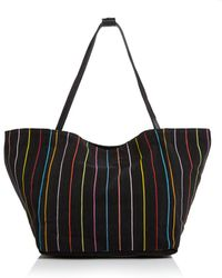 Elizabeth and James - Fortune Striped Cotton Tote - Lyst