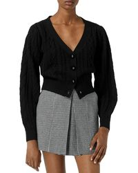 The Kooples Buttoned Cardigan - Black