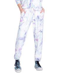 Pj Salvage - Tie Dyed Jogger Pajama Pants - Lyst