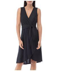 B Collection By Bobeau Rowan Faux - Wrap Dress - Black