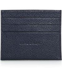 Longchamp Le Foulonné Card Case - Blue