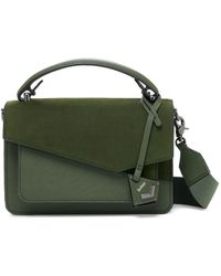Botkier Cobble Hill Leather Crossbody - Green