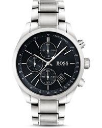 BOSS - Hugo Boss Grand Prix Watch, 44mm - Lyst