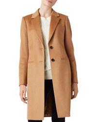 Hobbs - Tilda Wool Coat - Lyst