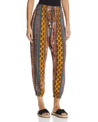 Band Of Gypsies Native Tapestry Inspired-print Trousers - Multicolour