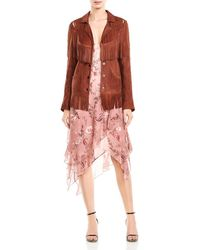 Haute Hippie - Criminal Fringed Western Leather Jacket - Lyst