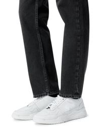 The Kooples Leather Trainers - White