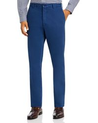 Zanella - Noah Garment - Dyed Brushed Slim Fit Dress Pants - Lyst