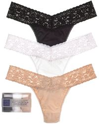 Hanky Panky - Cotton With A Conscience® Original - Rise Thongs - Lyst