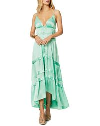 Ramy Brook Willow Empire Waist Dress - Green
