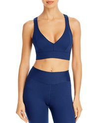 Year Of Ours - Years Of Ours Victoria Ribbed Cutout Sports Bra - Lyst