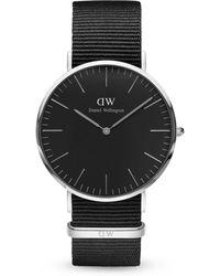 Daniel Wellington - Classic Cornwall Stainless Steel Watch - Lyst