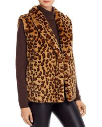 Echo Faux Fur Vest - Multicolour