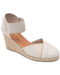 Andre Assous Women's Anouka Mid Wedge Espadrilles - Natural