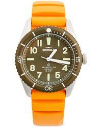 Shinola The Duck Watch Gift Set - Green