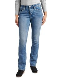 Jag Jeans Eloise Bootcut Jeans In Mid Vintage - Blue