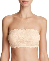 Cosabella - Never Say Never Flirtie Lace Bandeau Bra - Lyst