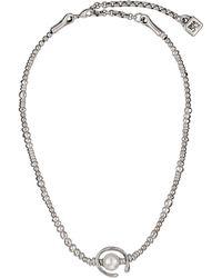 Uno De 50 Another Round Necklace - Metallic
