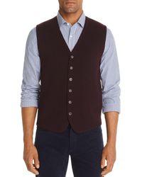 Bloomingdale's Merino Wool Vest - Purple