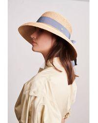 Helen Kaminski Newport Raffia Sun Hat - Natural