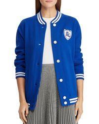 Ralph Lauren - Cotton-blend Bomber Jacket - Lyst