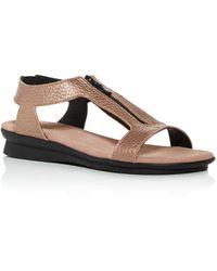 Arche Women's Aurnaa Demi - Wedge Sandals - Brown