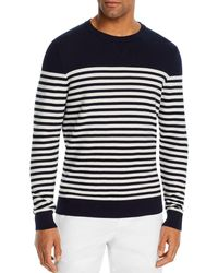 Bloomingdale's Cotton Rice - Stitch Sweater - Blue