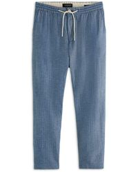 Scotch & Soda Drawstring Jogger Trousers - Blue