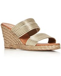 Andre Assous - Women's Amy Espadrille Wedge Sandals - Lyst