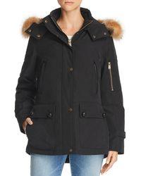 Pendleton - Bachelor Fur Trim Down Coat - Lyst