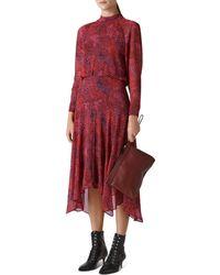 Whistles - Carlotta Abstract Animal Printed Dress - Lyst