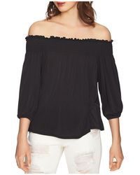 1.STATE - Smocked Off-the-shoulder Top - Lyst
