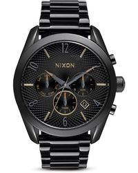 Nixon The Bullet Chrono Watch - Black