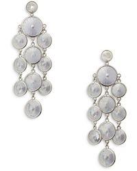 Kate Spade Crystal Chandelier Earrings - Metallic