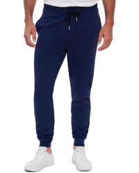 Robert Graham Cobb Classic Fit Knit Trousers - Blue