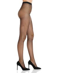 Wolford Multi - Scale Fishnet Tights - Black