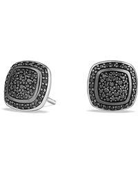 David Yurman - Albion Earrings With Black Diamonds - Lyst