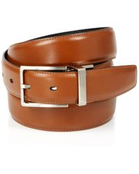 Bloomingdale's The Men's's Store At Bloomingdale's Men's Amigo Reversible Leather Belt - Brown