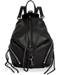 Rebecca Minkoff - Julian Convertible Mini Leather Backpack - Lyst
